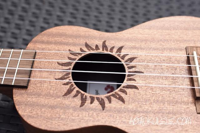 baton rouge v2-sw sun soprano ukulele sound hole