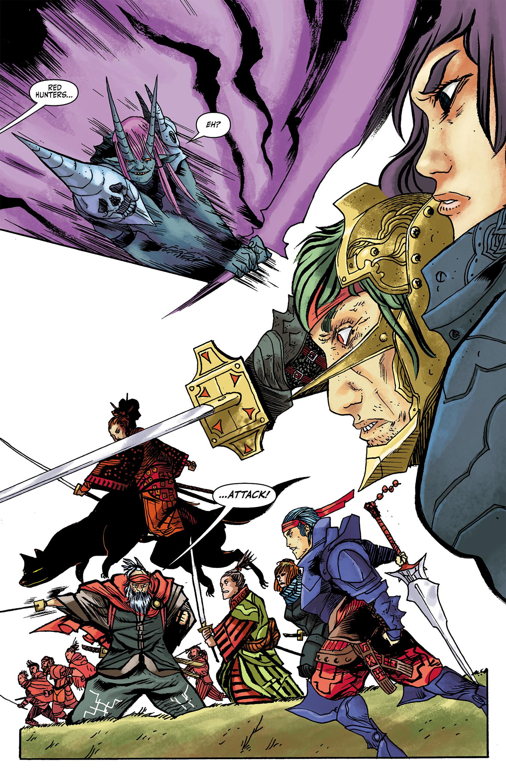 Read online Akaneiro comic -  Issue #3 - 14