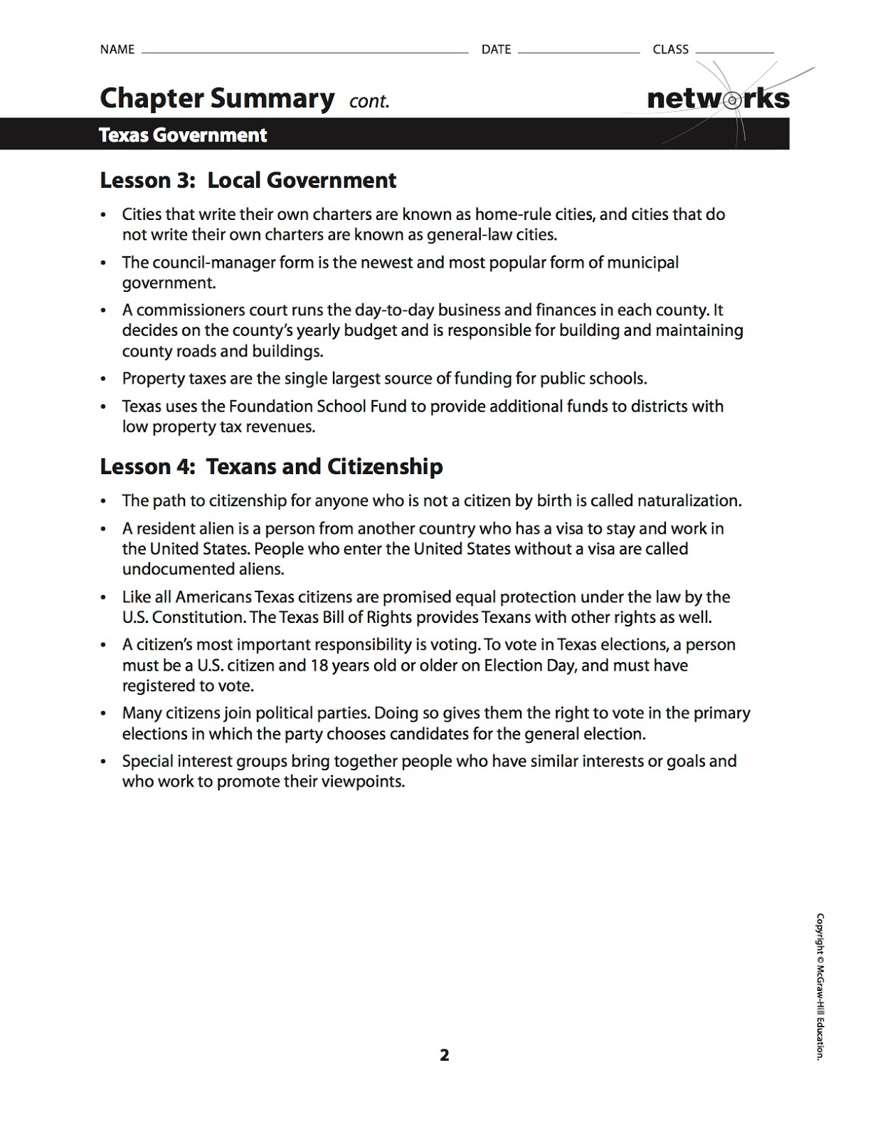 Ehms Texas History Chapter 28 Vocabulary Builder Worksheet Due Chapter 28 Summary And Take