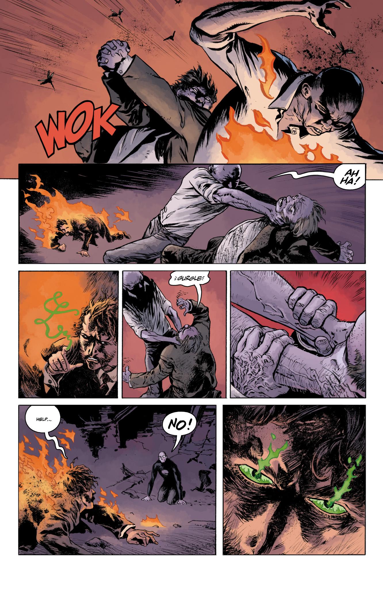 Read online Abe Sapien comic -  Issue #11 - 21