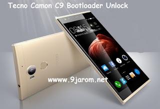 Tutorial On How To Unlock Tecno Camon C9 Bootloader