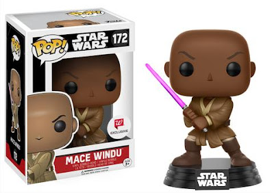 Walgreens Exclusive Star Wars Mace Windu Pop! Vinyl Figure Bobble Head by Funko