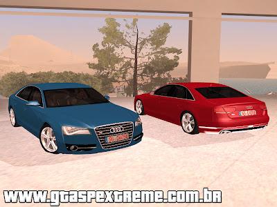 Audi S8 2012 [ImVehFt] para GTA San Andreas