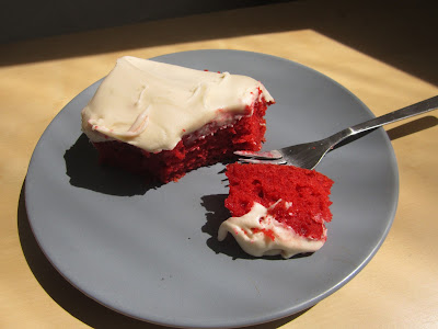 Fur Ninja's Ridiculously Radical Red Velvet Cake
