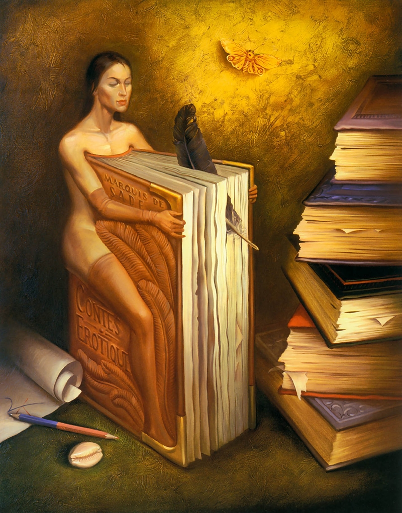 Vladimir Kush 1965 | Russian Surrealist painter