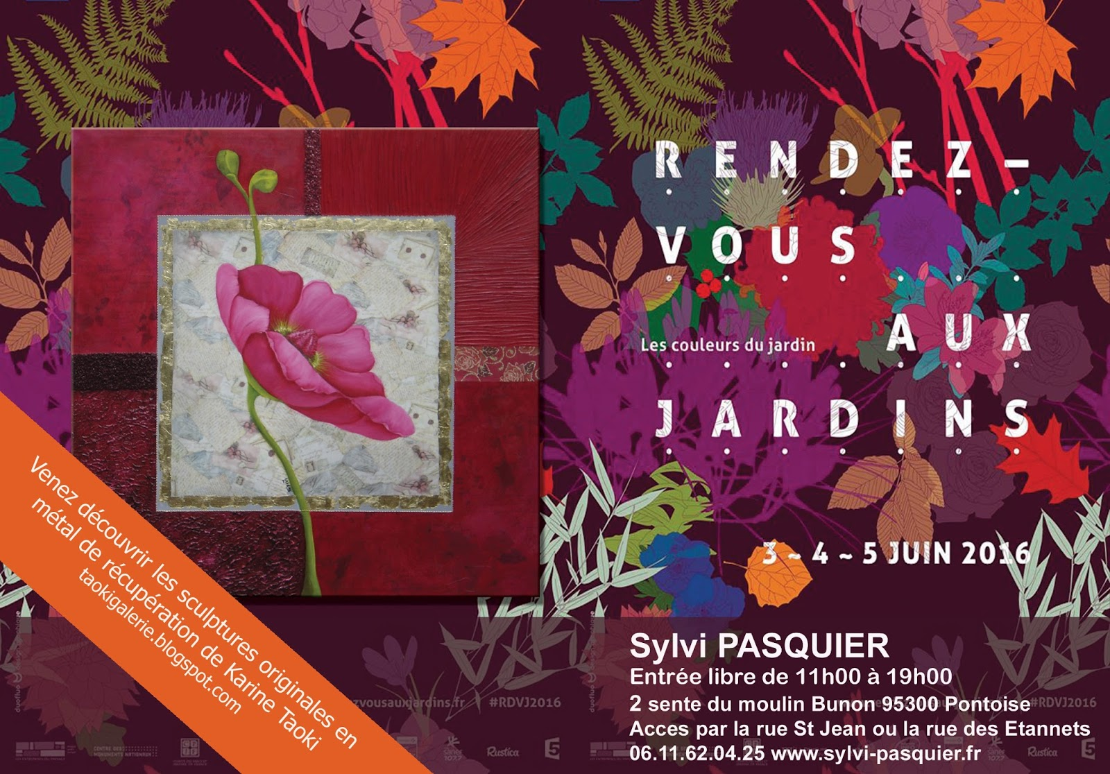 Karine taoki rendez vous au jardin 4 5 juin 2016 for Rendez vous au jardin 2016