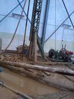 bore pile metode alat mesin mini crane