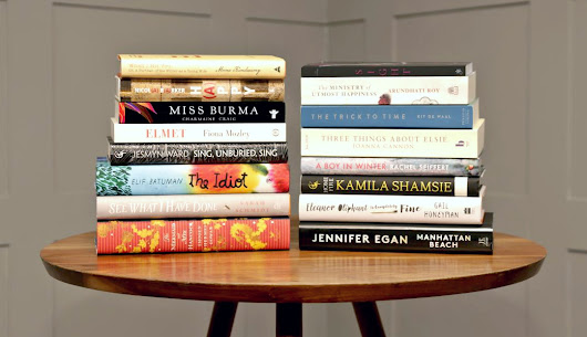 My Plans for Women's Prize for Fiction 2018