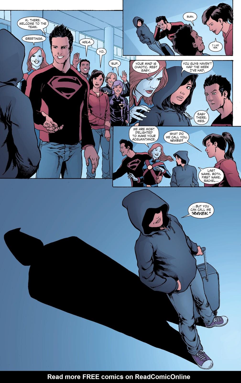 Read online Smallville Season 11 [II] comic -  Issue # TPB 8 - 43
