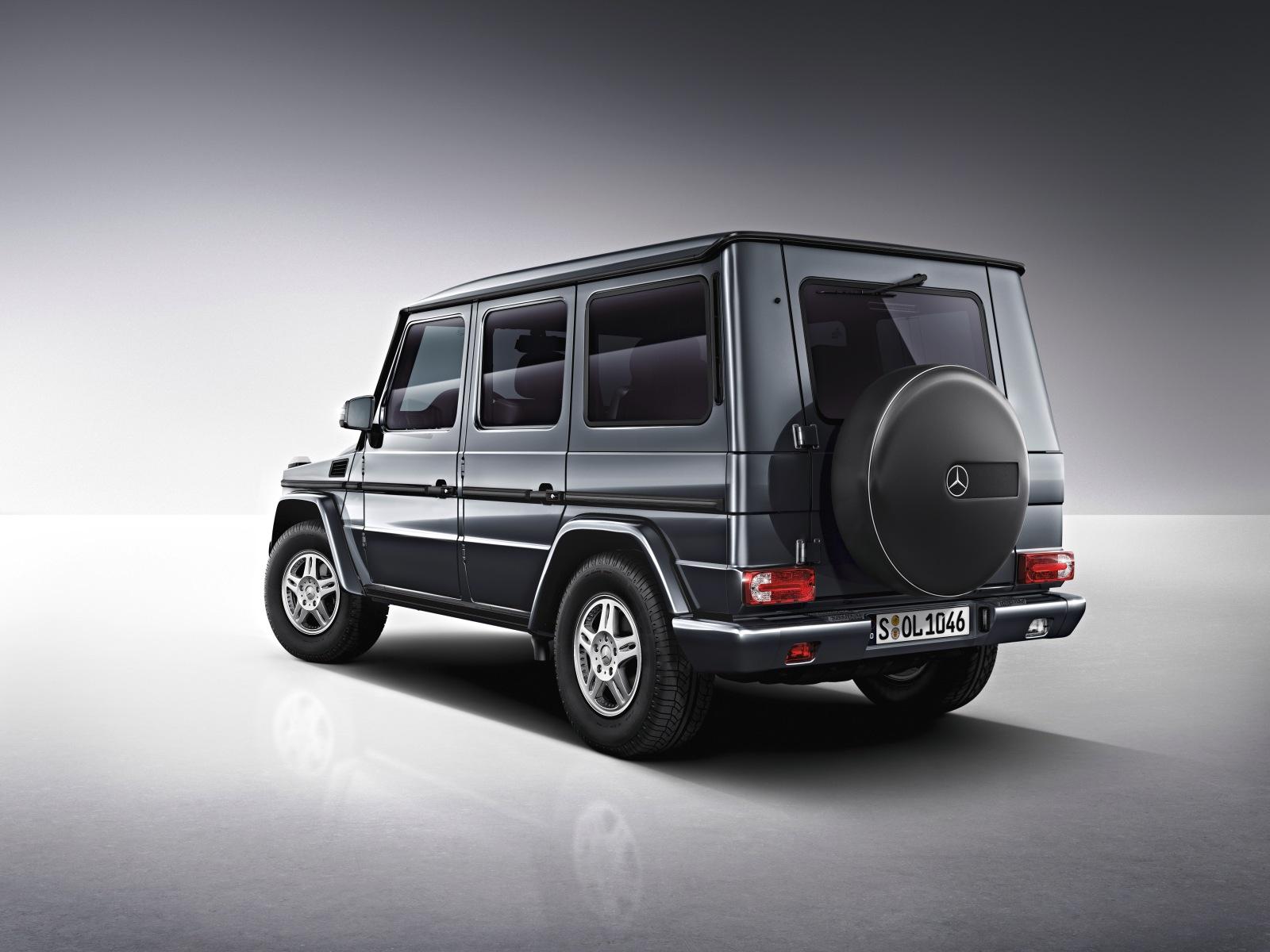 Mercedes Benz Classe G para quem gosta de aventura
