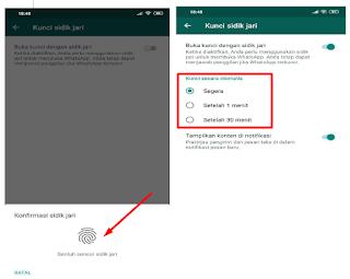 Fitur Terbaru Whatsapp Fingerprint, Begini Cara Mengaktifkannya