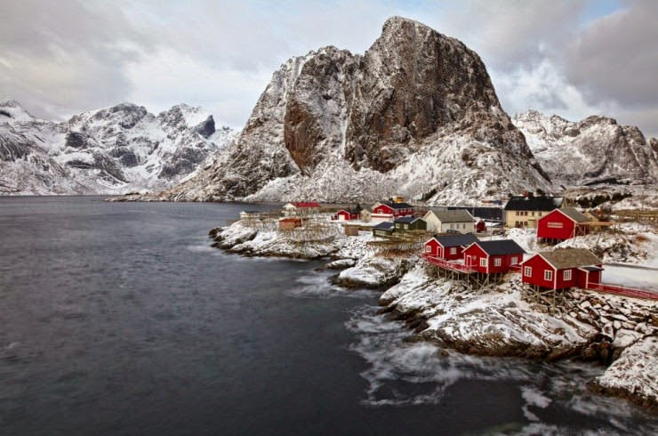 Hamny  the Oldest and Most Picturesque Fishing Village