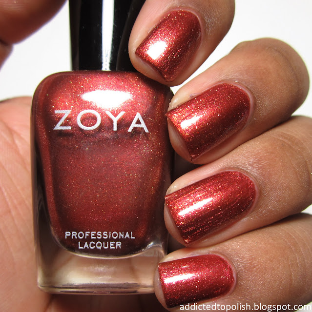 Zoya Autumn Ignite Fall 2014