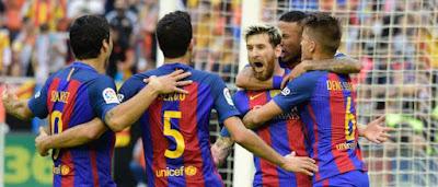 Spanish Liga FC Barcelona