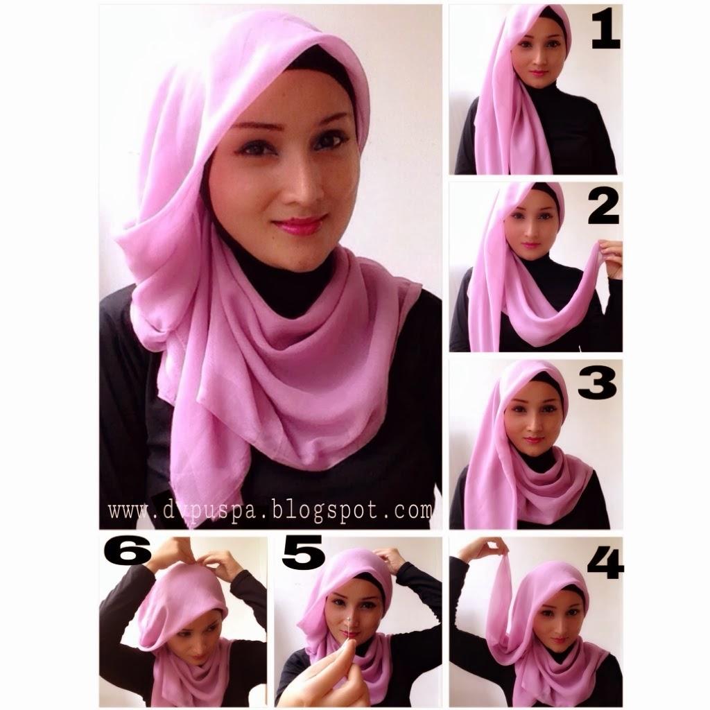 Tutorial Hijab Segi Empat Untuk Hari Raya Idul Fitri Tutorial