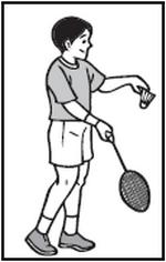 Bulu Tangkis Backhand