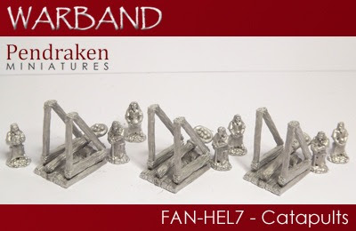 FAN-HEL7 – 3 x Catapults with crews