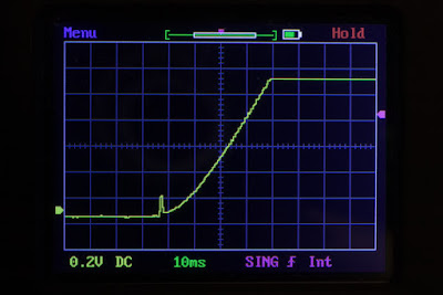 Olight S2R BatonII Włączanie światła to ponad 40 milisekundowy okres czasu