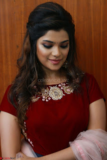 Actress Aathmika in lovely Maraoon Choli ¬  Exclusive Celebrities galleries 099.jpg