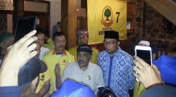 Partai Berkarya Resmi Dukung Emil-UU di Pilgub Jabar 2018