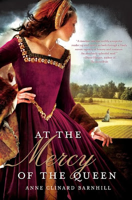 HFVBT Review: At The Mercy Of The Queen by Anne Clinard Barnhill