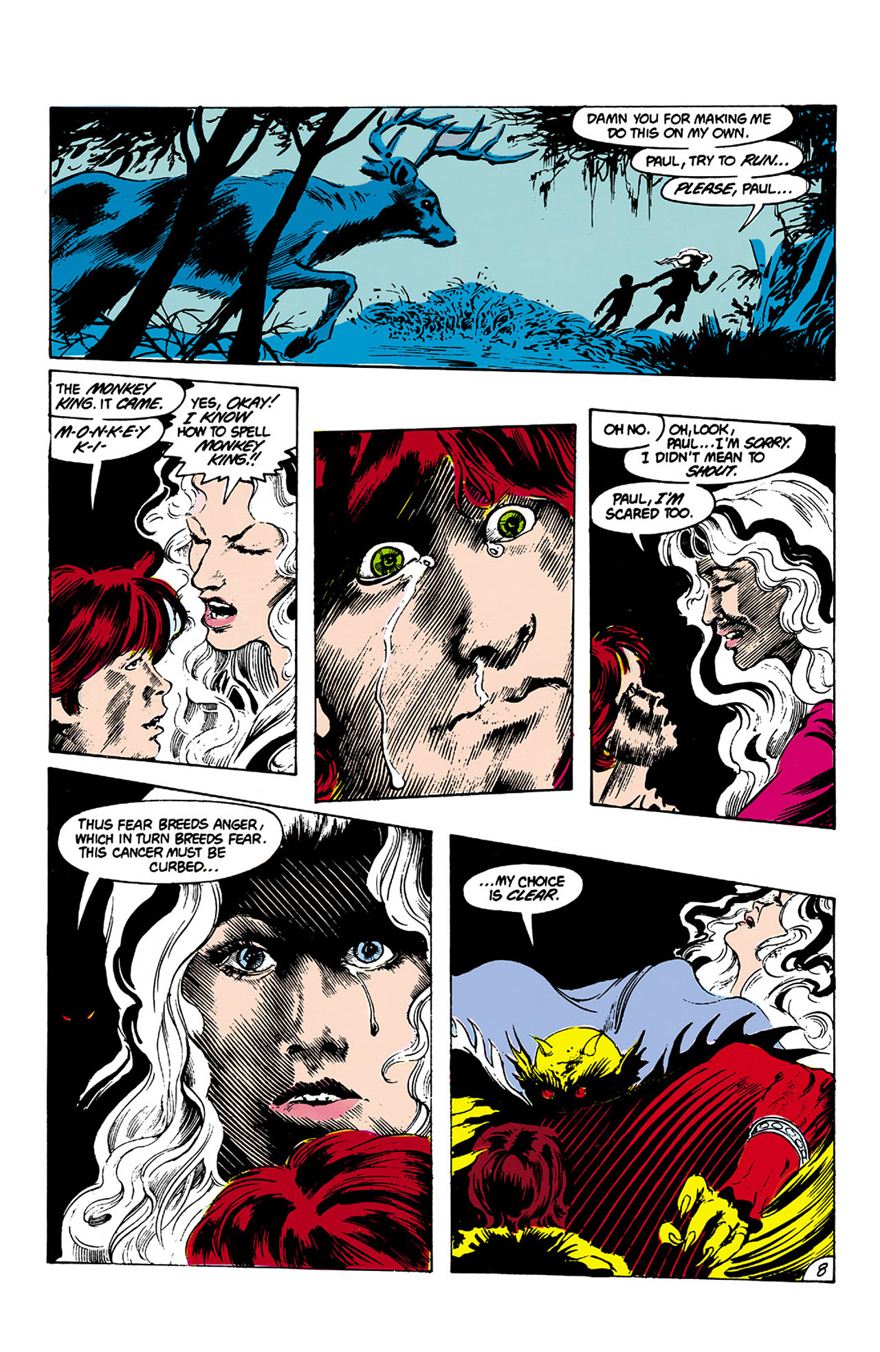 Swamp Thing (1982) Issue #27 #35 - English 8