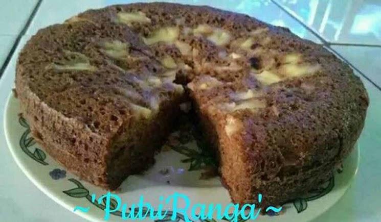 Brownies Milo Serba 6 Sdm. No Mixer, No Oven Hanya Dengan Magicom Saja