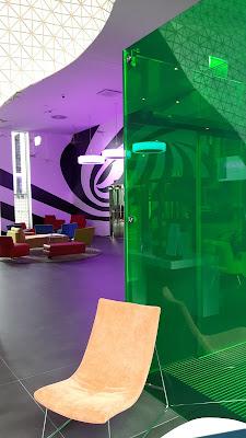 Lobby im Ibis Styles Basel City