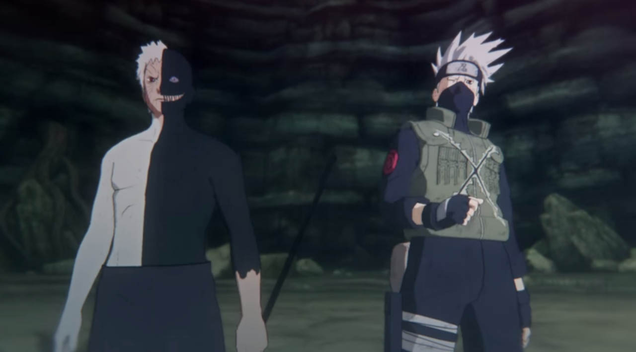 Naruto Shippuden Ultimate Ninja Storm 4 New York Comic Con 2015 Game Trailer featuring Kakashi and Obito Working Together Against Madara