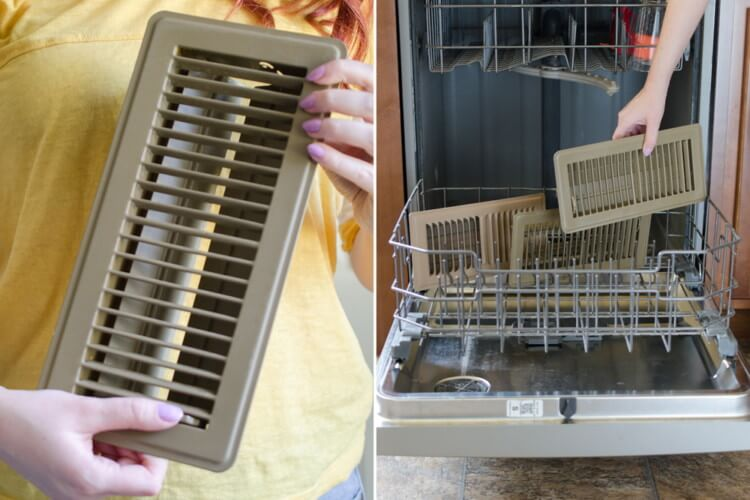 10 Genius Tips To Deep Clean Your House - Vent Covers