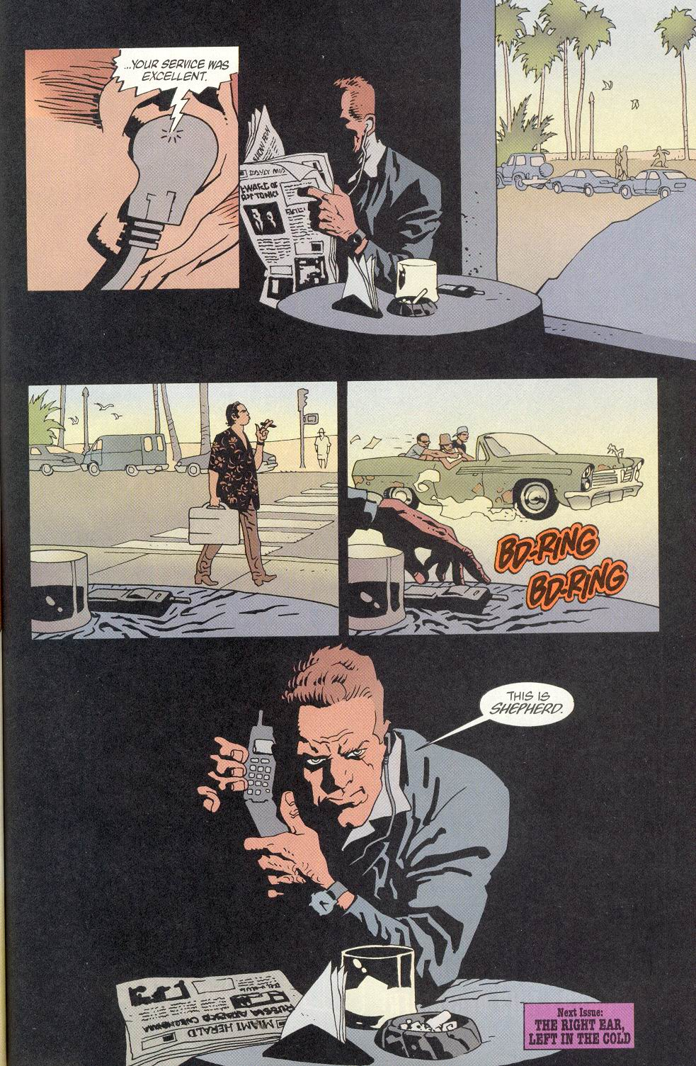 Read online 100 Bullets comic -  Issue #8 - 23