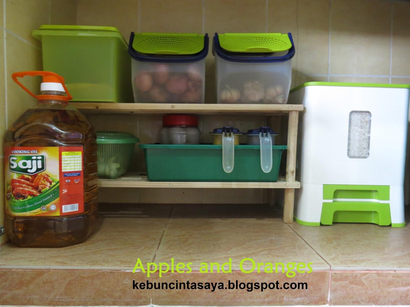Barang Yang Biasa Suri Rumah Letak Bawah Kabinet Dapur Minyak Beras Ba Dan Kentang