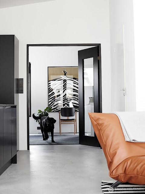 Eleganță scandinavă în alb și negru