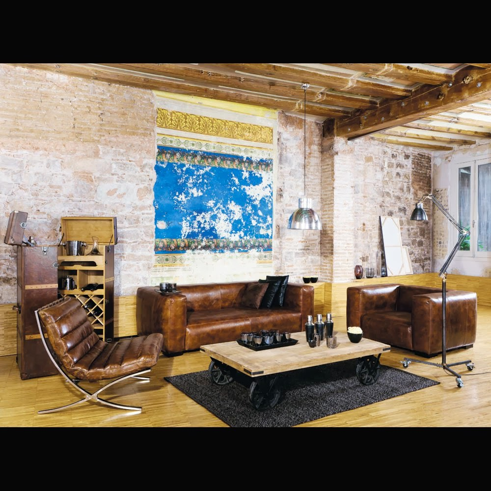 neo arquitecturaymas mesas de centro vintage para el sal n maisons du monde. Black Bedroom Furniture Sets. Home Design Ideas