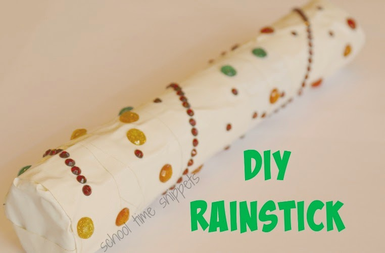 Make your own rainstick instrument