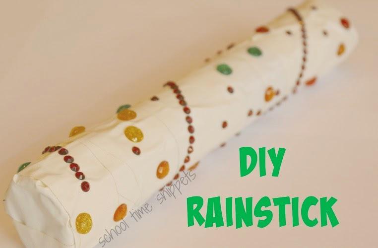 Make your own rainstick instrument