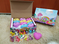 MLP Fake My Lovely Horse Busy Book Figures