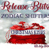 #RELEASE #FREE  - Zodiac Shifters - Christmas Kisses  @MelissaSnark  @AmyLeeBurgess  @RosalieRedd  @jenehilt  @BethanyShaw77 @DominiEastwick