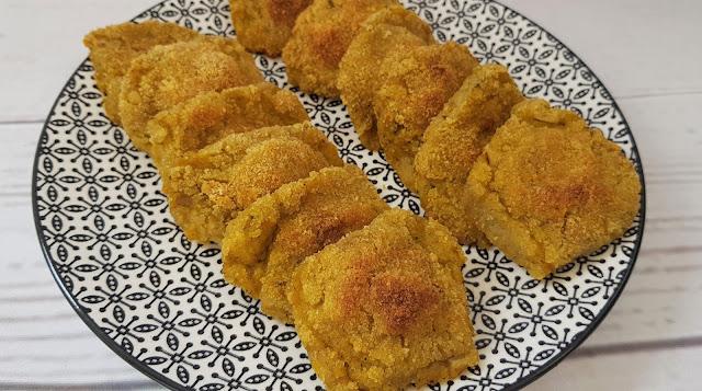 Nuggets veganos de calabaza