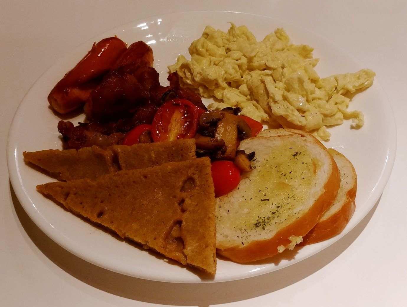 English breakfast Y Cafe