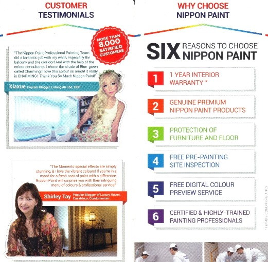 nippon paint mailer luxury haven