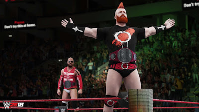 WWE 2k18 PC game free download full version