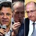 Datafolha: Bolsonaro, 28%, Haddad, 16%, Ciro, 13%, Alckmin, 9%, e Marina, 7%