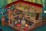 5NGames Halloween Doll House Escape