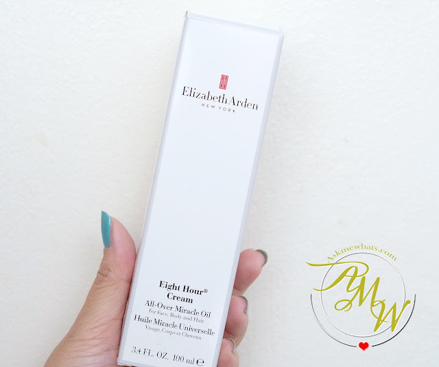 a photo of Elizabeth Arden Eight Hour Cream All-Over Miracle Oil review