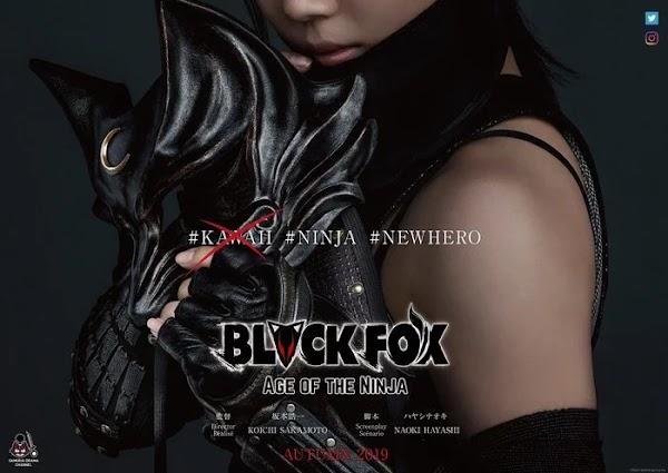 Anime Blackfox Dapatkan Adaptasi Live-Action