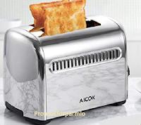 Logo Amazon : Tostapane Aicok con espulsione automatica ultimo prezzo € 16,99 anziché € 59,99 codice sconto