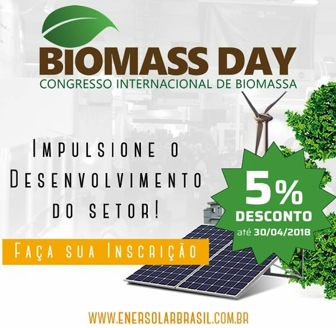 BIOMASS DAY - Congresso Internacional de Biomassa 2018