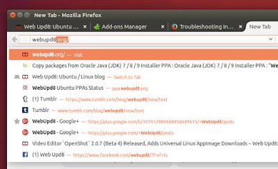 Firefox Ubuntu