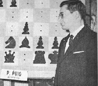 El ajedrecista Pedro Puig Pulido